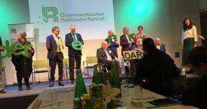 Gruppenbild Österreichischer Behindertenrat