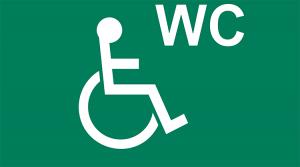 Pictogramm Behinderten-Toilette