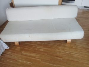 weisses Sofa