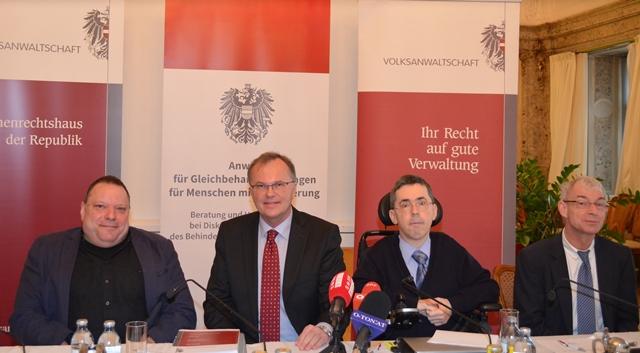 Herbert Pichler, Günther Kräuter, Martin Ladstätter, Hansjörg Hofer