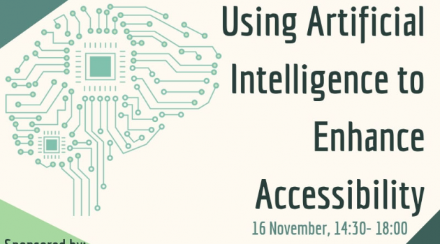 Veranstaltung: Using Artificial Intelligence to enhance accessibility – Opportunities and risks of emerging technologies for persons with disabilities