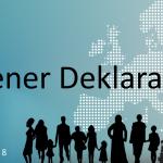 Wiener Deklaration, Gruppe von Menschen mit und ohne Behinderungen als schwarze Silhouetten