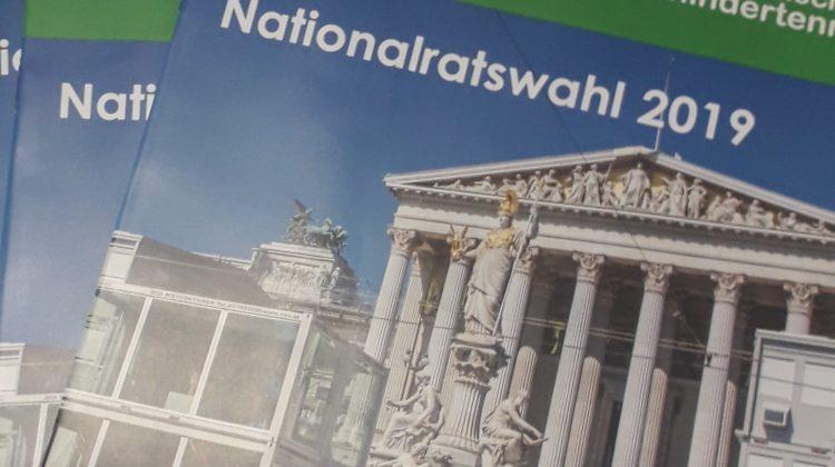 Cover Zeitschrift monat Nationalratswahl 2019