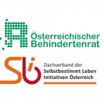 Logos von Behindertenrat und Selbstbestimmt Leben Österreich