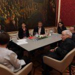 Gespräch Van der Bellen, Schmidauer, Sprengseis, Widl, Zarfl, Hofer