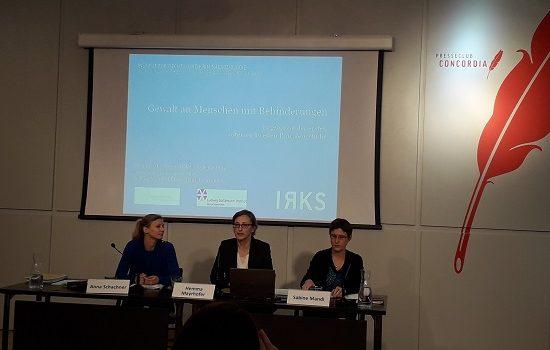 Podium Presseclub Concordia, Anna Schachner, Hemma Mayrhofer, Sabine Mandl