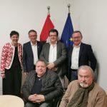 Gruppenbild BM Anschober und Präsidium Behindertenrat