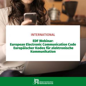 Europäischer Kodex für elektronische Kommunikation