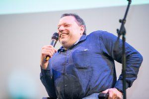 Herbert Pichler am Mikrofon