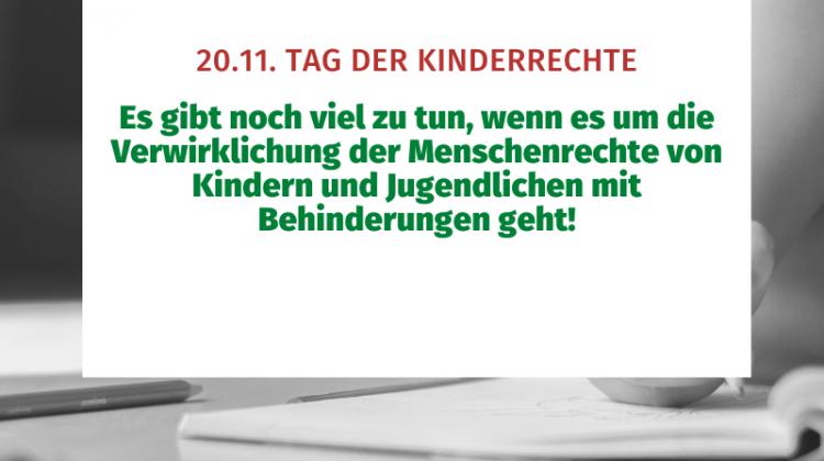 20.11. Tag der Kinderrechte