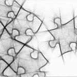 Zeichnung von Puzzlestücke