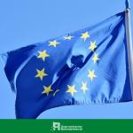 EU Flagge im Wind