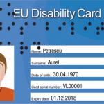 Karte: EU Disability Card